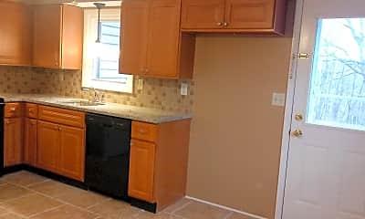 Kitchen, Slatington Apartments, 1