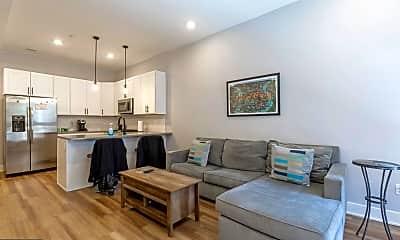 Living Room, 910 N 17th St 1F, 1