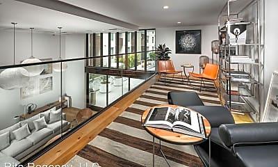 Living Room, 1737 N Las Palmas Ave, 2