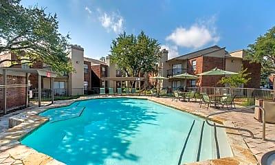 Pool, Landmark at Spring Creek Apartment Homes, 1