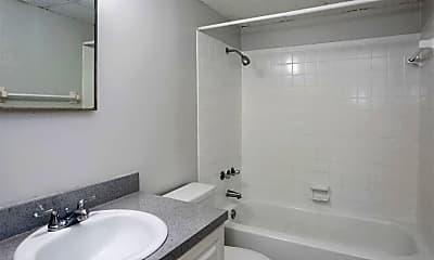 Bathroom, Cortez Plaza Apartments, 2