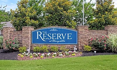 Community Signage, The Reserve at Maryville, 1