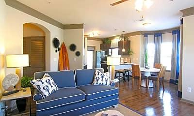 Living Room, Villas at Park Avenue, 1