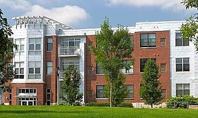 Building, Trostel Square, 1