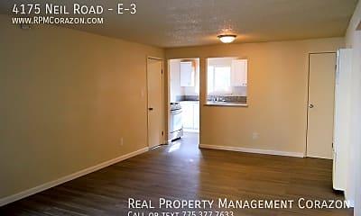 Living Room, 4175 Neil Road - E-3, 1