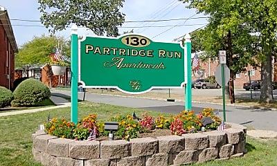 Community Signage, Partridge Run Apartments, 1
