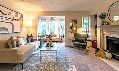 Living Room, Atria at Crabtree Valley, 1