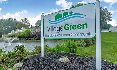 Community Signage, Village Green, 0