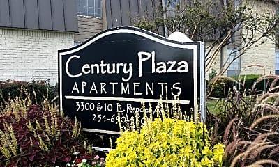Community Signage, Century Plaza Apartments, 0