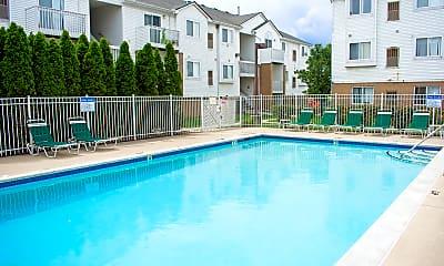 Pool, Chestnut Court Apartments, 0