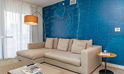 Living Room, 2602 E Hallandale Beach Blvd R2209AB, 1