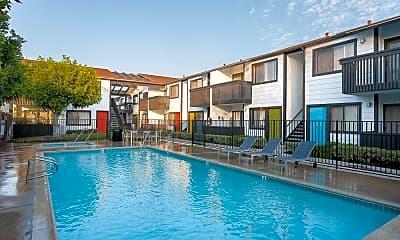 Pool, Eastside Apartments, 0