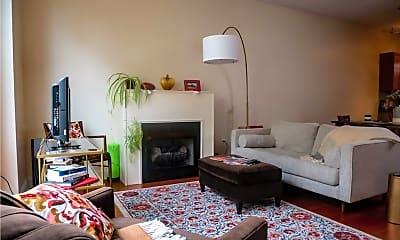 Living Room, 12587 Larchmere Blvd W-4, 1