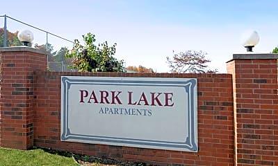 Community Signage, Park Lake, 2