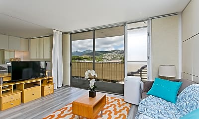 Living Room, 737 Olokele Ave, 1