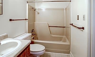 Bathroom, Country Club, 2