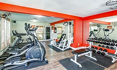 Fitness Weight Room, Stone Creek Pointe Apartments, 2
