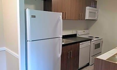 Kitchen, Queensdale Apartments, 1