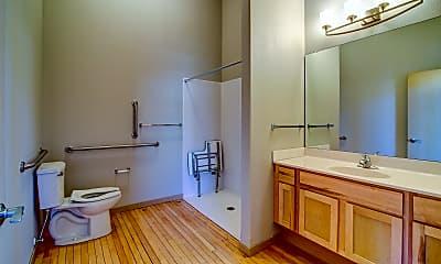 Bathroom, Historic Apartments on 4th, 2
