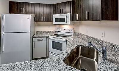 Kitchen, Quad on Delaware, 1