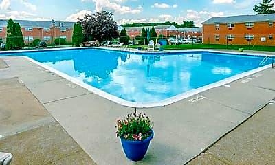 Pool, Whitehall Apartments, 2