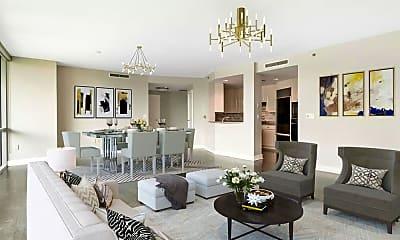 Living Room, 700 Park Regency Pl NE 803, 1