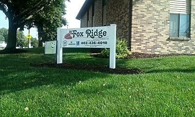 Fox Ridge, 1