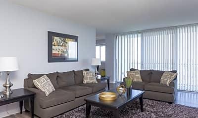 Living Room, Enclave Silver Spring, 1