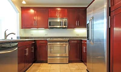 Kitchen, The Onyx Apartments, 1