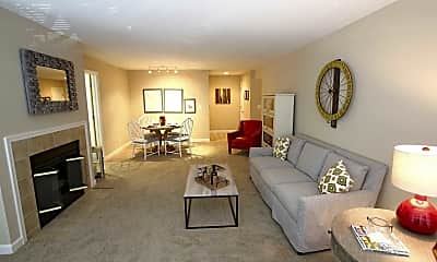 Living Room, Park Crescent, 1
