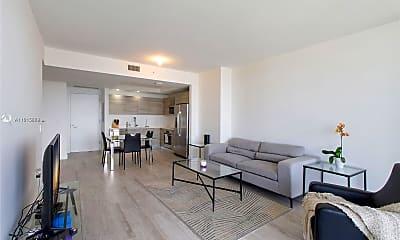 Living Room, 121 NE 34th St 2212, 1