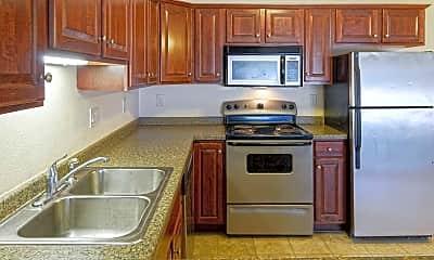 Kitchen, Silvan Townhomes, 1