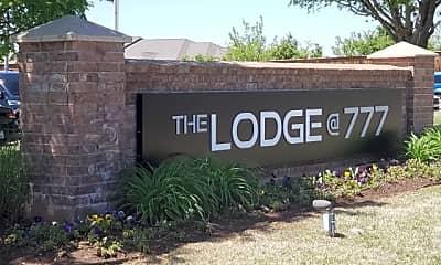 Community Signage, The Lodge @ 777, 1