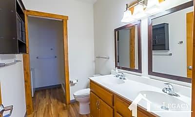Bathroom, 120 W 1st St, 1