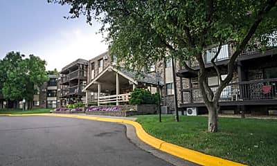 Building, Oakridge Apartments, 1
