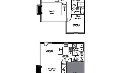 Patio / Deck, 3609-3611 Hermitage Rd, 2