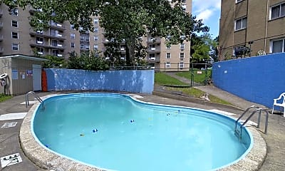 Pool, Park Towers, 1