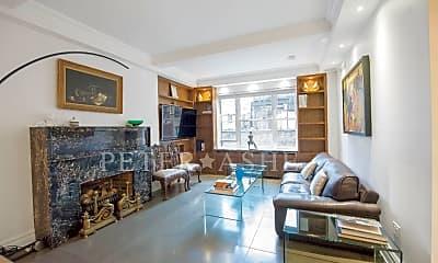 Living Room, 128 Central Park S, 1