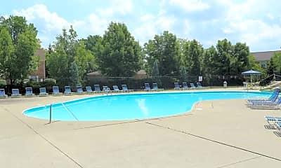 Pool, Bel Air Court, 1