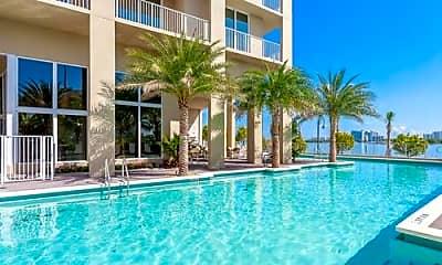 Pool, 7940 NE Bayshore Ct, 1