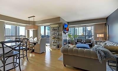 Living Room, 500 E Grant St 1102, 0