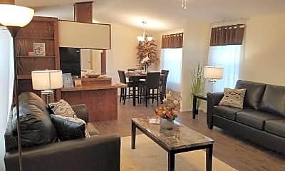 Living Room, Forest Vista, 2