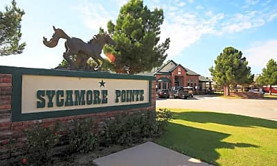 Community Signage, Sycamore Pointe Townhomes, 2