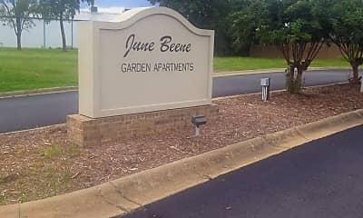 June Beene Garden Apartments, 1
