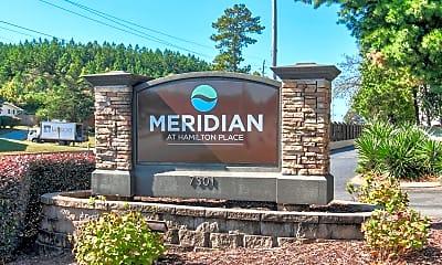Community Signage, Meridian at Hamilton Place, 2
