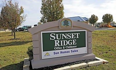 Community Signage, Sunset Ridge - TX, 2