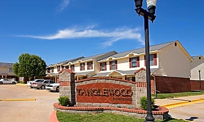 Community Signage, Tanglewood Townhomes, 2