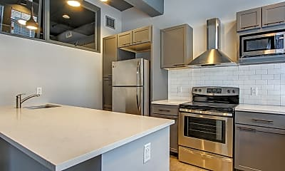Kitchen, AP Lofts at Larkinville, 0