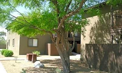Building, Casa Grande Village, 1