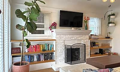 Living Room, 1825 Meade Avenue, 1